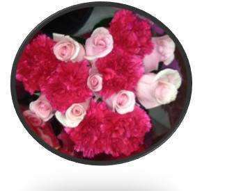 311110183 - Rose and Carnation Bouquet (10 bouquets)