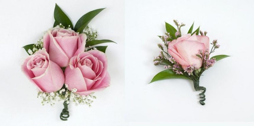 Pink corsage and boutonniere 24 pcs bulk flowers j r roses pink corsage and boutonniere mightylinksfo