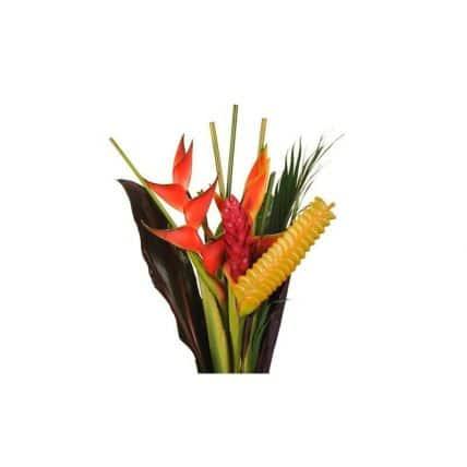 17 Exotic Tropical Flowers Bouquet #4 - J R Roses Wholesale Flowers