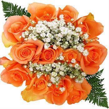 orange-rose-bouquet
