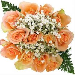 peach-rose-bouquet