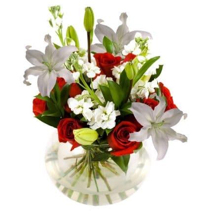 6 Bright Flower Table Centerpieces J R Roses Wholesale Flowers