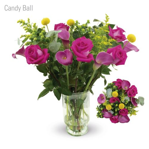 Candy Ball Flower Bouquet