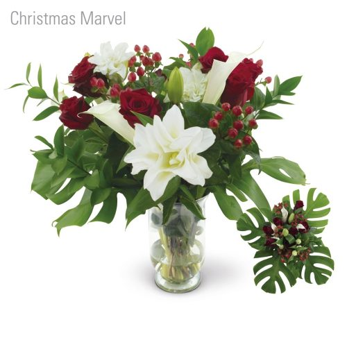 Christmas Marvel Flower Bouquet