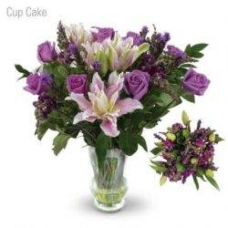 Cup Cake Flower Bouquet