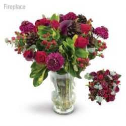 Fireplace Flower Bouquet