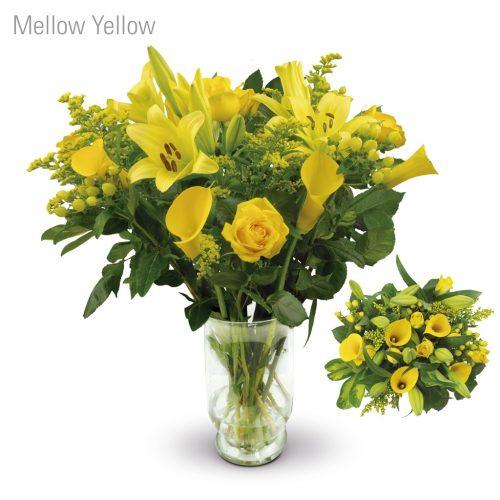 Mellow Yellow Flower Bouquet
