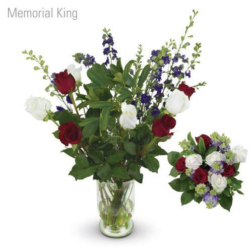 Memorial King Flower Bouquet