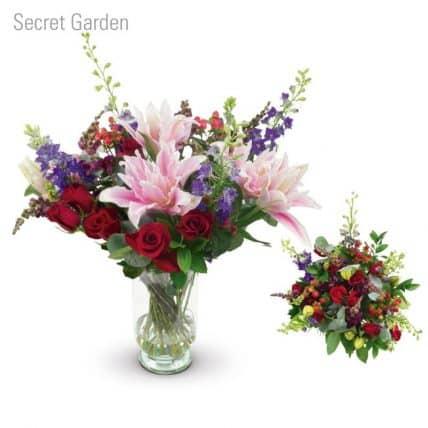 Secret Garden Flower Bouquet