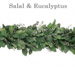 Salal-Eucalyptus-wedding-garland