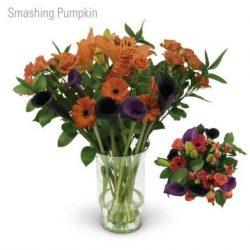 Smashing Pumpkin Flower Bouquet