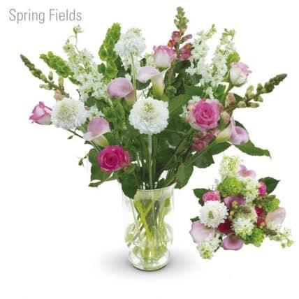 Spring Fields Flower Bouquet