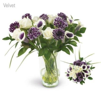 Velvet Flower Bouquet