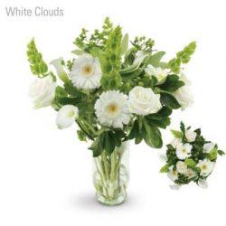 White Clouds Flower Bouquet