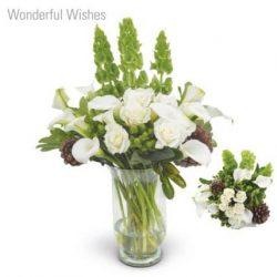 Wonderful Wishes Flower Bouquet