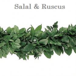 Salal Ruscus Wedding Garland