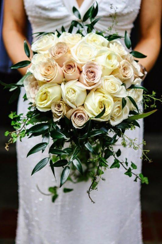 italian ruscus bouquet